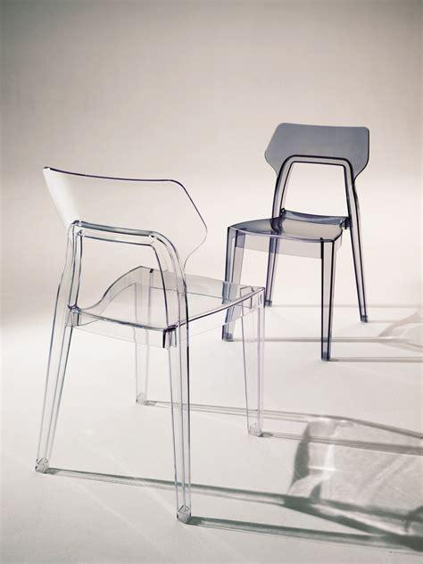 chaise en polycarbonate chaise en polycarbonate by bontempi casa