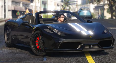 During the story mode, characters don't have enough amount of money to buy supercars. Ferrari 458 Speciale Aperta Add-On - GTA5-Mods.com