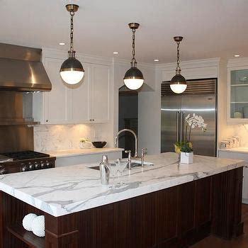 Thomas O'Brien Hicks Pendants   Transitional   kitchen