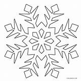 Snowflake Coloring Snowflakes Cool2bkids Printable Snow Flake Winter Colouring Frozen Template Drawing Simple Sheets Cutouts Getdrawings Line Getcolorings источник Uploaded sketch template