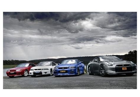 Gtr Generations Wallpaper by Nissan Skylines R32 R33 R34 R35 Cars