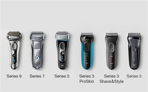 braun series shavers