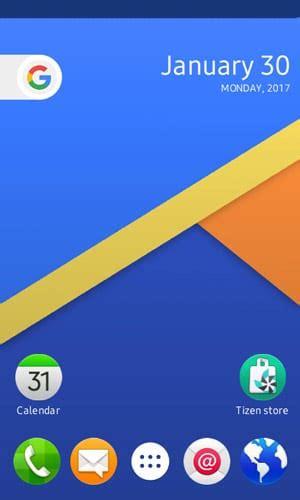 smartphone app nougat launcher app released to tizen store iot gadgets