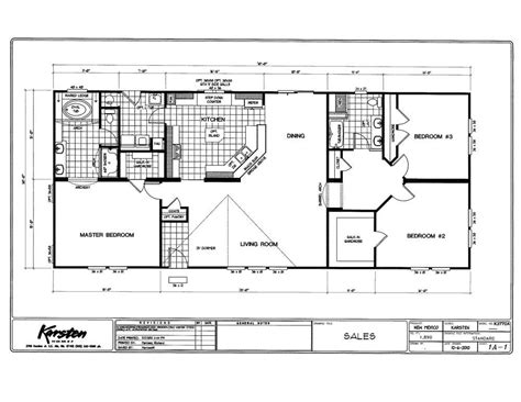 K3070a 3 Bed / 2 Bath / 2100 Sqft Affordable Home For