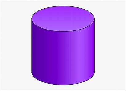 Cylinder Shape 3d Clipart Cyllinder Clip Transparent