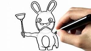 Lapin Facile A Dessiner : comment dessiner un lapin cr tin youtube ~ Carolinahurricanesstore.com Idées de Décoration
