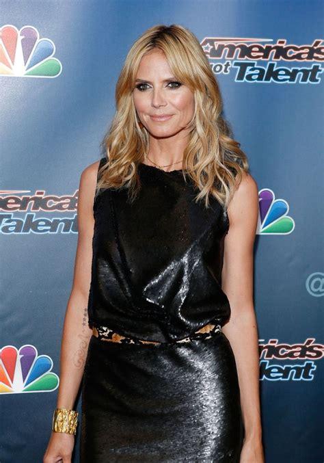 Heidi Klum America Got Talent Red Carpet Event New
