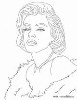 Coloring Pages Celebrity Print sketch template