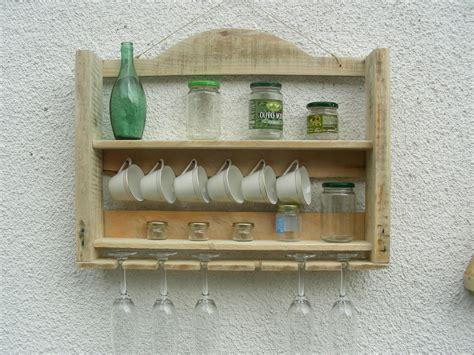 petit bureau ancien étagère de cuisine toute en bois de palette de