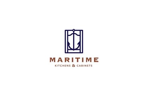 Maritime Kitchens And Cabinets  Logo Cowboy