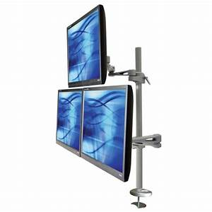 Triple Monitor Desk Mount - Hostgarcia