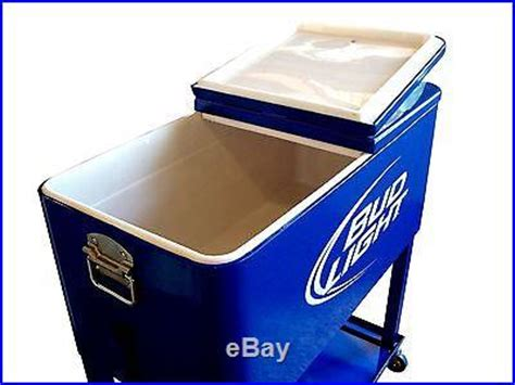 bud light chest coolers and chests