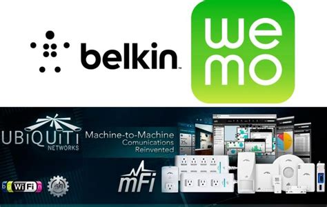 Mfi And Wemo Product Lines  Belkin Wemo And Ubiquiti Mfi