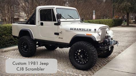 Jeep Scrambler Swapped Walk Around Youtube