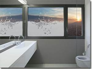 Blickdichte Fensterfolie Bad : sichtschutz oder deko f r bad wc ma anfertigung ~ Frokenaadalensverden.com Haus und Dekorationen