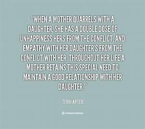 Sad Mother Daughter Quotes. QuotesGram