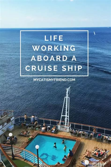 What Is It Like To Work On A Cruise Ship? - Quora