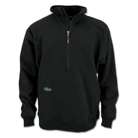 hoodie zipper jaket hoodie size m thick 1 2 zip sweatshirt heavy duty half zip