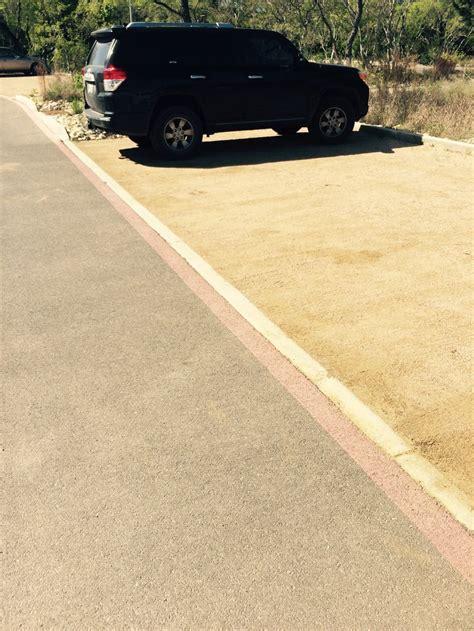 decomposed granite parking area pavement decomposed