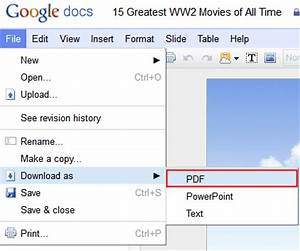 methods to save powerpoint as pdf for free round up With google docs pdf online