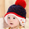Baby Girls Hat Young Child Winter Cotton Hats Babies Boys ...