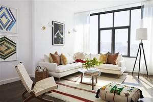 Inside, Mindy, Kaling, U0026, 39, S, Newly-furnished, New, York, Apartment