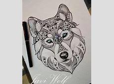 Tattoo Renard Graphique Printablehd