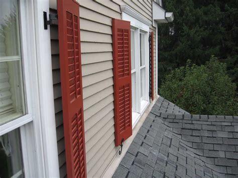 exterior shutter pictures  shutterland custom wood shutters