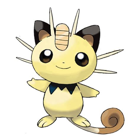 Baby Meowth by oneilmarty on DeviantArt