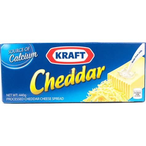Kraft Cheddar Cheese 440g | Homeshop.ph - same day delivery!