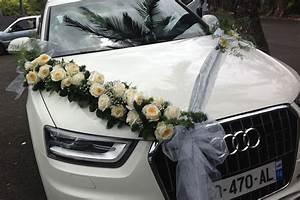 Decoration Voiture Mariage : decoration voiture mariage cortege location auto clermont ~ Preciouscoupons.com Idées de Décoration
