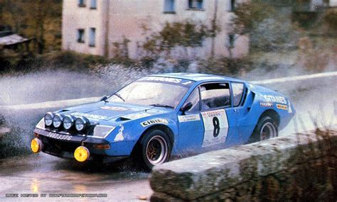 renault alpine a310 rally rallymemory rally cars a to z