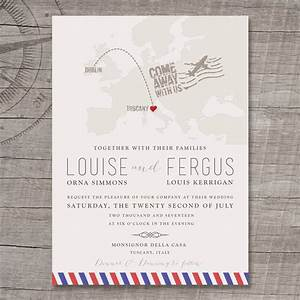 destination europe wedding invitation by appleberry press With wedding invitations online europe