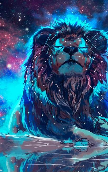 Lion Colorful Artistic Iphone Touch 4k Wallpapers