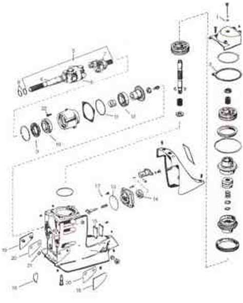 omc parts exploded view drawings outdrive repair  video