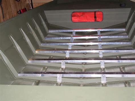 Aluminum Jon Boat Floor by New Aluminum Floor In 1648 Tinboats Net