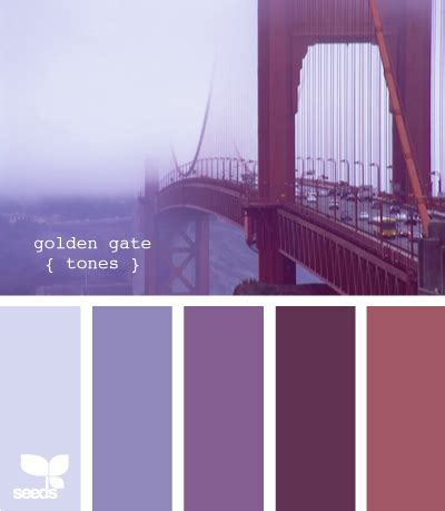 what colors go with lavender golden gate tones so moody colors design seeds