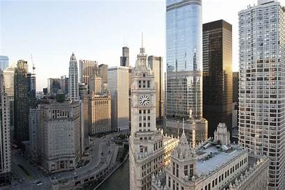 Wrigley Building Buildings Architecture Chicago Center