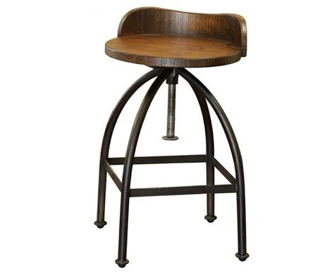 low back swivel counter stools ashland low back adjustable height bar stool industrial 9065