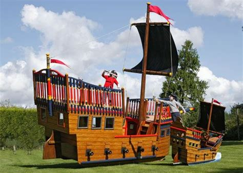 Pirate Ship Backyard Playset by Pirate Playsets Plans Pirate Playgrounds Areas