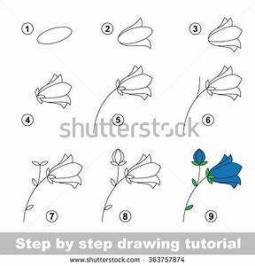 Step by step drawing tutorial. Vector kid game. How to ...