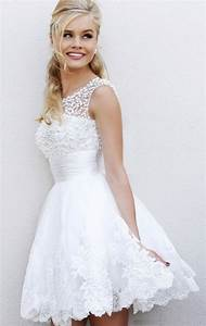 Short wedding dresses ava lace the chic find for Wedding dress finder