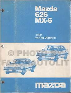 1992 Mazda 626 And Mx