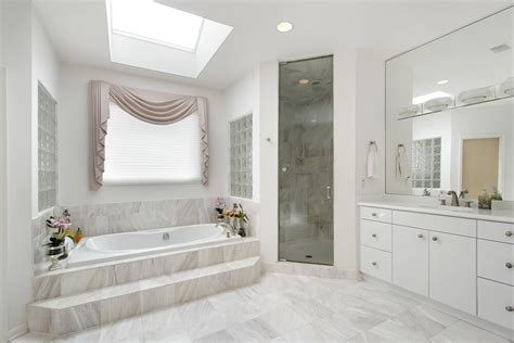 Luxe Designer Corner Bathroom Cabinet by 34 Luxury White Master Bathroom Ideas Pictures