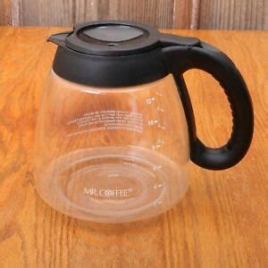 It was convenient that we could buy this at our local walmart store. Mr Coffee Glass Replacement Pot Carafe 12 Cup For Coffee Maker Black Lid Handle | eBay