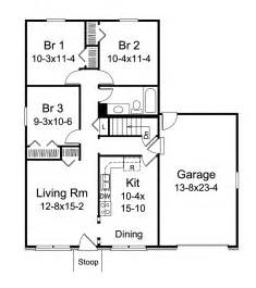westerry small ranch home plan   house plans
