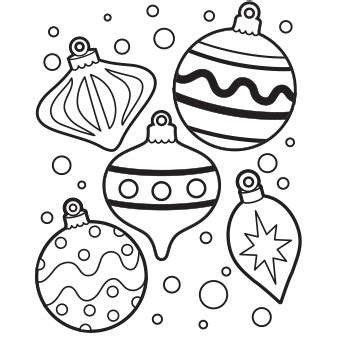 ornaments coloring page free recipes coloring pages for santa letters free