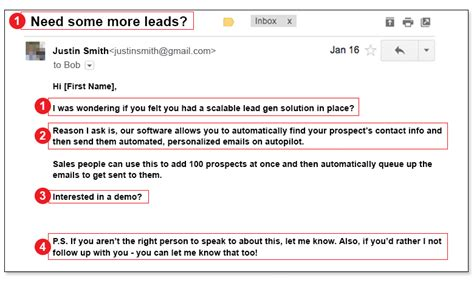 Cold Email Template How To Land Your Customers And Open Six Figure Sales