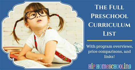best preschool curriculum preschool curriculum top choices list for homeschooling 417