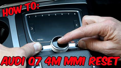 audi   mmi reset youtube